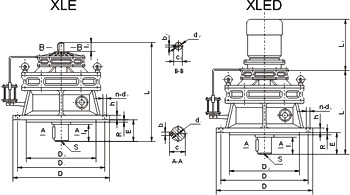 XLED Cyclo Drive Speed Reducer