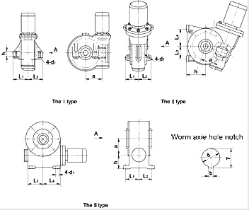 Worm Reducer for Rubber Tire Curing Press
